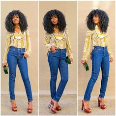 Printed Blouse + High Waist Levi's Jeans (Style Pantry) Style Pantry, Got The Look, Dope Fashion, Striped Blazer, Vintage Scarf, Fashion Stylist, Fashion Addict, Fashion Bloggers, Printed Blouse