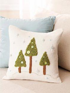 knit embelisment for Christmas