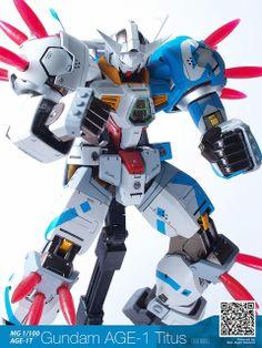 "Gundam AGE-1 Titus ""Amuro Ray Colors"""