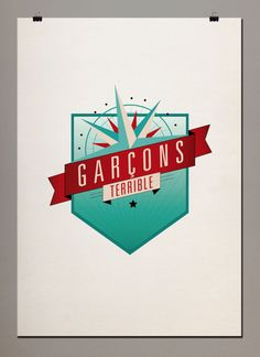 Graphic design inspirationcool font and colours