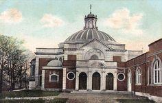 Blue Coat Hospital Chapel, Wavertree, Liverpool - c.1910 King John, Liverpool Home, Swan, Ash, Taj Mahal, England, History, Architecture, World