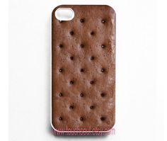 Ice Cream Sandwich iPhone 4 Case.. super cute but also kind of funny because the slang name for the android operating system is Ice Cream Sandwich