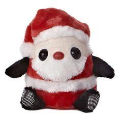 Snowball Santa Plush Toy 12