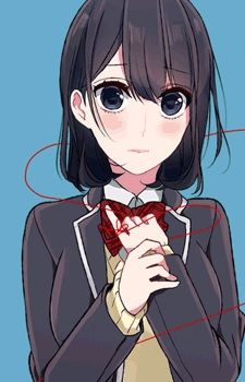 Koi to uso Misaki takasaki akaito manga anime Girl cute hairstyle Nice hand Blush style uniforme