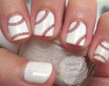 Popular items for baseball nails on Etsy