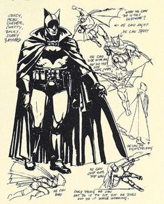 alternateworldcomics: Unused Batman redesign by Igor Kordey. Batman Concept Art, Batman Artwork, Batman Comic Art, Dc Comics, Batman Comics, Comic Book Characters, Comic Books Art, Batman Redesign, Batman Cape