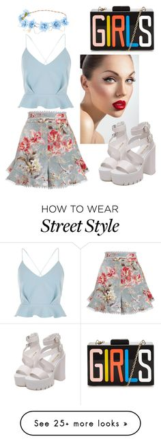 """Girls"" by grazisz-gz on Polyvore featuring Zimmermann and River Island"