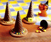 Candy-Filled Witch Hats