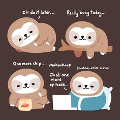 A very ambitious sloth Cute Baby Sloths, Cute Sloth, Cute Baby Animals, Baby Otters, Wild Animals, Baby Sloth Pictures, Cute Pictures, Sloth Cartoon, Cute Cartoon