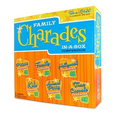 FAMILY CHARADES | Family Game, Activity, Fun, Teams, Gesture, Classic | UncommonGoods