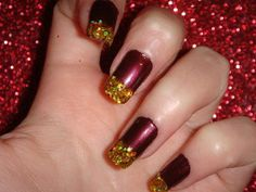 christmas manicure christmas nail art, Christmas nail art 2013 for small-medium-long nails, christmas nail art 2014 for small-medium-long nails, christmas nail designs easy and stylish christmas nail art designs latest christmas nail art Diy Christmas Nail Designs, Diy Nail Designs, Christmas Nails, Xmas Nails, Holiday Nails, Paint Designs, Fabulous Nails, Gorgeous Nails, Pretty Nails