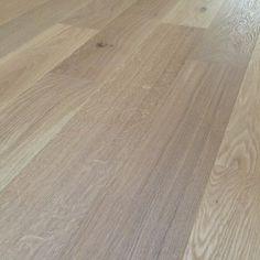 Loire Oak Light White Natural Brushed Oiled Engineered Flooring PEFC