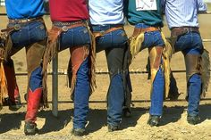 Wranglers and chinks, hell yeah!  What's not to love?