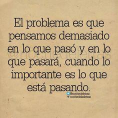 Ese es el problema.