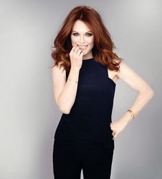 """dailyactress: """"Julianne Moore - PhotoShoot for NewBeauty Magazine, Fall 2014 by James White """""""