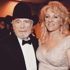Merle with wife Teresa