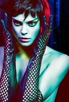Fashion Photography Color Lighting