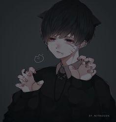 Dark Anime Guys, Cool Anime Guys, Handsome Anime Guys, Sad Anime, Manga Anime, Anime Art, Anime Boys, Cool Anime Pictures, Anime Triste