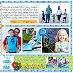Week 26 Page 2 by Joelsgirl usign Words and Pictures Templates 8 by Misty Cato