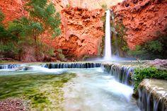 Havasupai falls, Grand Canyon AZ