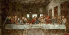 3Leonardo Da Vinci The Last Supper - Leonardo da Vinci Resimleri