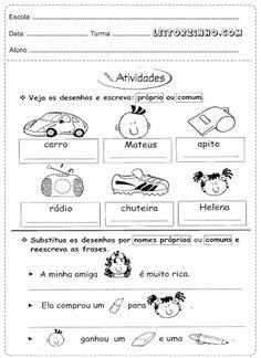 Resultado de imagem para atividade portugues 3o ano