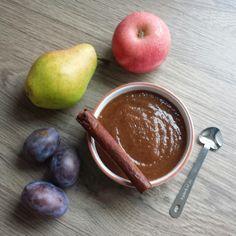 Fruit compote: pears, plums, prunes, apple