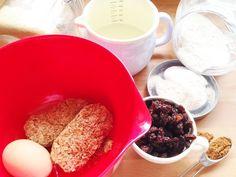 Ingredients for weetabix cake