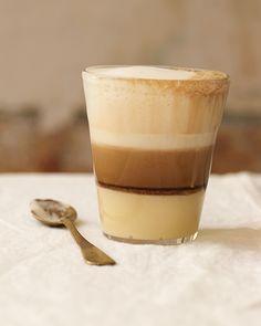 Cuban Layered Coffee - El Pecado - http://www.sweetpaulmag.com/food/cuban-layered-coffee-el-pecado #sweetpaul