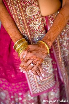 Bollywood henna art