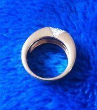 Pierre Lang Ring Gr. 6 gold sehr elegant mit 15 Zirkonia ca. 8 mm Breit NEU !