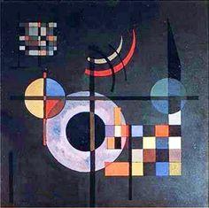 Vassily Kandinsky ''GRAVITATION'', 1935
