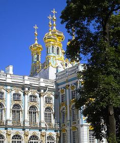 catherine palace, in st. petersburg, russia