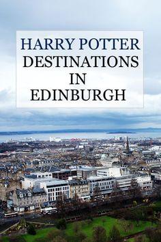 Harry Potter Destinations in Edinburgh Scotland