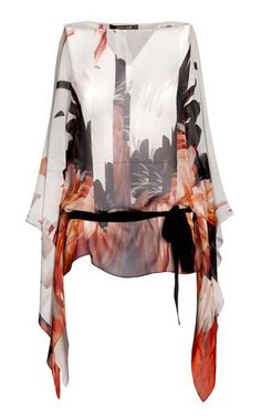 Short kaftan Women - Kaftans Women on Roberto Cavalli Online Store (the sleeves!)