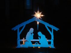 MyNativity.com Outdoor nativity set in white.....now available on amazon.com