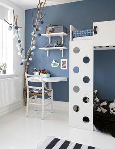 3. Smart køjeseng Playroom Table, Playroom Decor, Baby Room Decor, Kids Decor, Home Decor, Playroom Paint Colors, Creative Kids Rooms, Just Dream, Kid Spaces