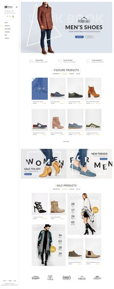 Umbra is the premium PSD template for multi concept eCommerce shop. It can be suitable for any kind of ecommerce shops thanks to its multi-functional layout. Download: bit.ly/tfumbra-psd