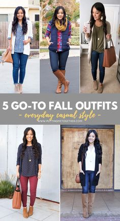 Putting Me Together: 5 Put Together Casual Fall Looks