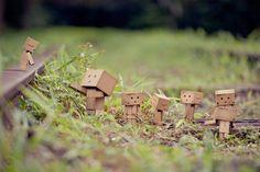 Cardboard People by Anton Tang