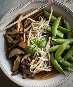 Rawmazing Pho: a raw, vegan take on a traditional Vietnamese noodle soup.