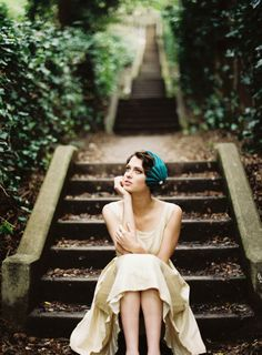 Such a gorgeous photo...from Behida Dolic Millinery Esty shop.