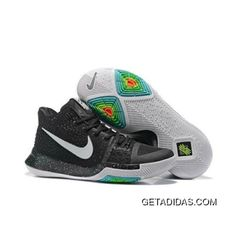 Latest and Cheapest Unisex Nike Kyrie 3 III Black Ice White Silver Jordan Shoes For Sale, Nike Shoes For Sale, Air Jordan Shoes, Nike Shoes Blue, Nike Shoes Outfits, Nike Kyrie 3, Nike Lebron, Pink Basketball Shoes, Nike Waffle Racer