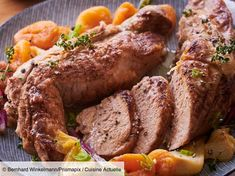 undefined Filets, Sausage, Veal Recipes, Pork, 20 Min, Meat, Veal Scallopini, Dutch Oven