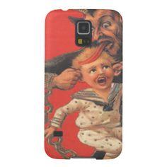 Krampus Punishing Child Boy Galaxy S5 Case