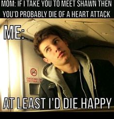 10 Super Fun Shawn Mendes Facts Every True Fangirl Should Commit to Memory Shawn Mendes Memes, Shawn Mendes Tour, Shawn Mendes Imagines, Shawn Mendas, Funny Quotes, Funny Memes, Top Memes, Chon Mendes, Shawn Mendes Wallpaper