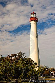 Klassischer Leuchtturm