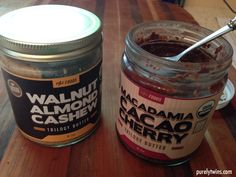 Nut butters from #Onnit