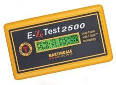 The Martindale EZ2500, with patented T-SafeTM technology, is an excellent earth loop impedance with true plug and go technology, that fits in the palm of your hand.