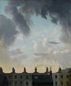 Algernon Newton. Evening Sky over Church St.